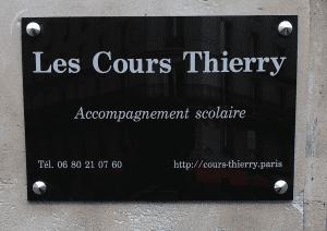 cours thierry Paris
