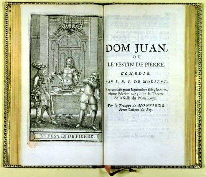 Exemple commentaire composé Dom Juan