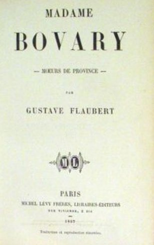 Madame Bovary de Gustave Flaubert - Cours Thierry