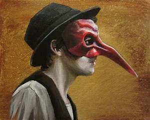 Un zanni et son masque